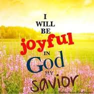 joyful in God my savior