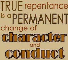 repentance true
