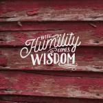 humility and wisdom