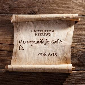 Hebrews 6 18