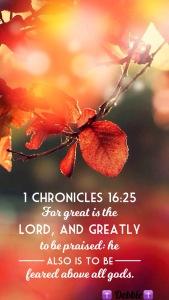 1 chron 16 25
