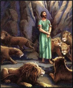 Daniel in the Lion's Den Daniel 6:19-20