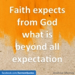 faith expectation