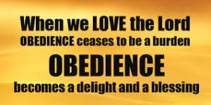 obedience blessing