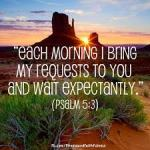 prayer expectation