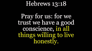 Hebrews 13 18