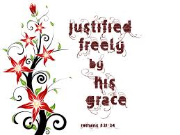 justifed by grace