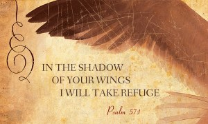 shadow of His wings