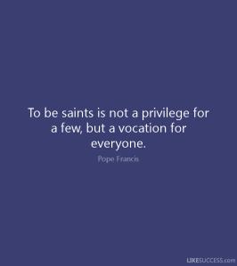 sainthood