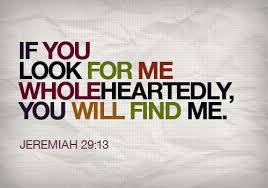 Jeremiah 29 13