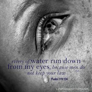 psalm 119 136