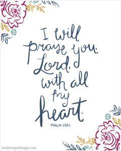 psalm 138 1