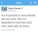 trust-pope francis qutoe
