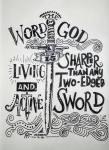 Holy spirit sword
