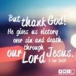 1 Corinthians 15 57