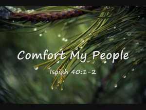 Isaiah 40 1