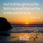 1 John 4 13