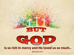 Ephesians 2-4 Rich In Mercy