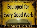 2 Timothy 3-17