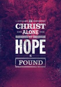christ alone hope