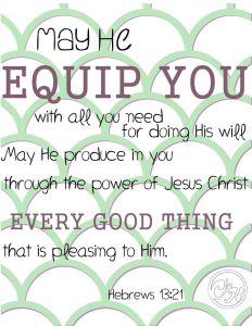 Hebrews 13 21