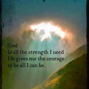 Godismystrength