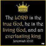 Jeremiah 10 10