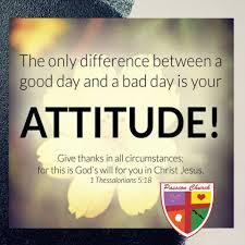 attitude of thankfulness