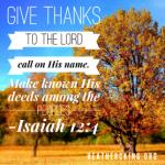 isaiah 12 4