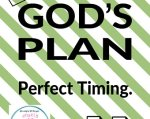plan and timing God