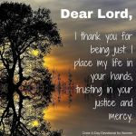 prayer for justice and mercy