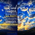 psalm 93 1