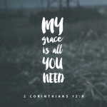 2Corinthians 12-9