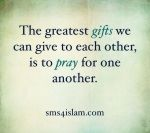 prayer for each other