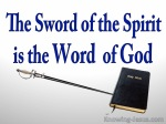 Ephesians 6-17 Sword
