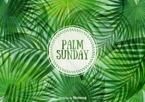 Palm Sunday vector