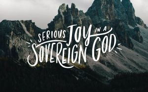 joy in sovereignty of God